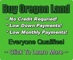 Cheap Oregon Land Banner